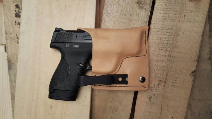 SALE!!! S&W MP Shield Natural Tan Leather Conceal Holster IWB Find our speedloader now!  www.raeind.com  or  http://www.amazon.com/shops/raeind