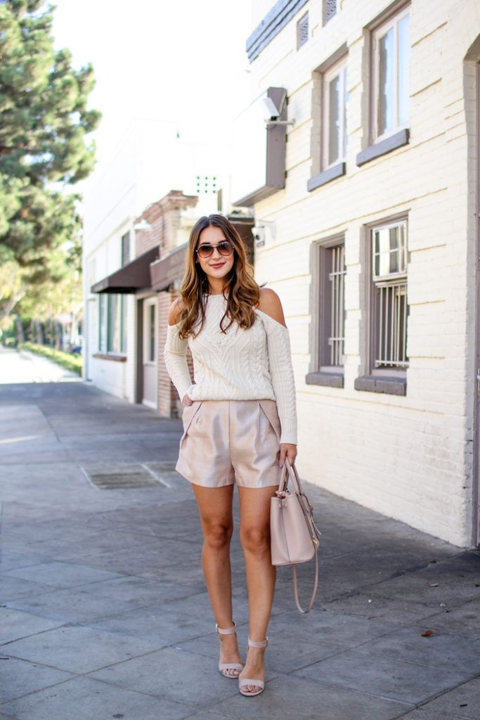 Raw Silk Shorts