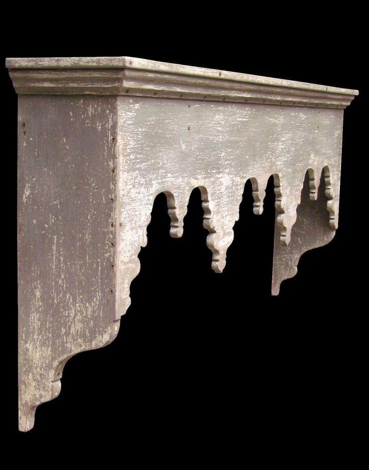 Daryl McMahon: French-esque wall shelf