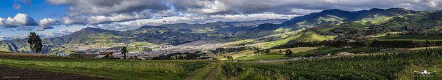 Panorama San Juan de Pasto - Nariño - Colombia [1.179037,-77.301876]