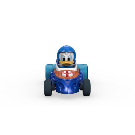 Fisher-Price Disney Mickey And The Roadster Racers Donald's Cabin Cruiser, Blue