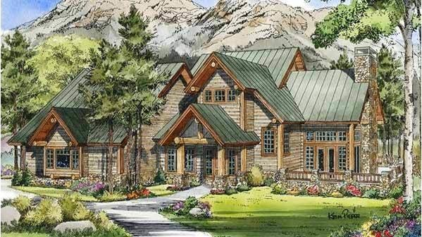 Our Best Mountain House Plans For Your Vacation Home Mountain House Plans Craftsman Style House Plans Mountain House