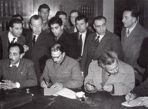 ΣΥΓΚΛΟΝΙΣΤΙΚΟ ΒΙΝΤΕΟ! 12 Φεβρουαρίου 1945: Η Συμφωνία της Βάρκιζας....