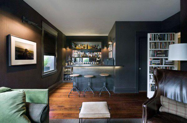 Bachelor Pad Man Cave Basement Bars Bars For Home Home Bar Rooms Man Cave Living Room