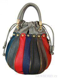 Barevná dámská kabelka do ruky / crossbody 2933 šedá