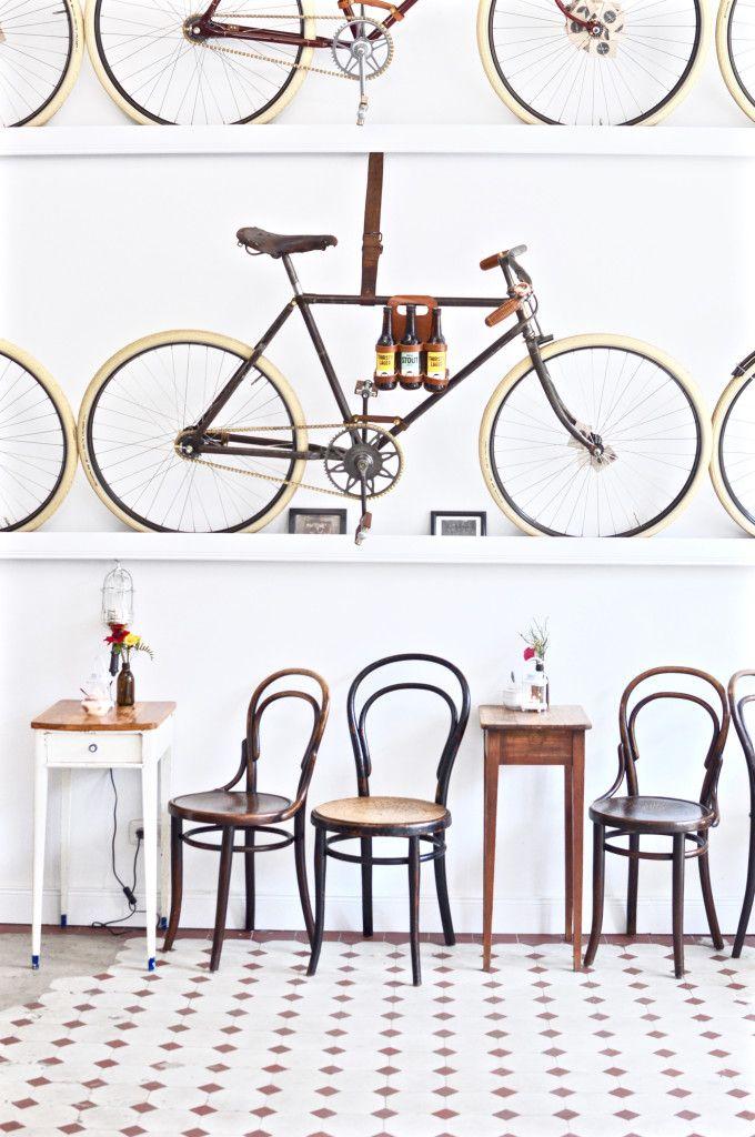 Le Vélo Hamburg Eimsbüttel Café Vintage Bikes & Coffee - Fräulein Anker