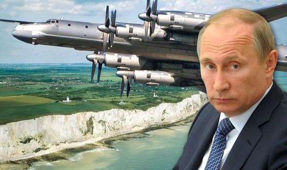 """A RUSSIAN bomber intercepted over the Channel last week was carrying a nuclear missile designed to destroy Trident submarines, it emerged last night. RAF Typhoon fighter jets were scrambled on Wednesday after two long-range TU-95 """"Bear"""" bombers were detected flying over the English Channel."""