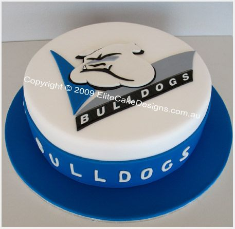 Abd 106a Canterbury Bulldogs Birthday Cake A Design