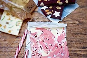 Das Rezept für Drei selbst gemachte Schokoladen und weitere kostenlose Rezepte auf LECKER.de