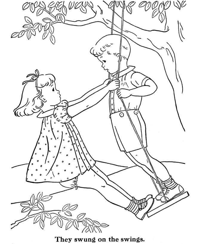 BlueBonkers Kids Coloring Pages