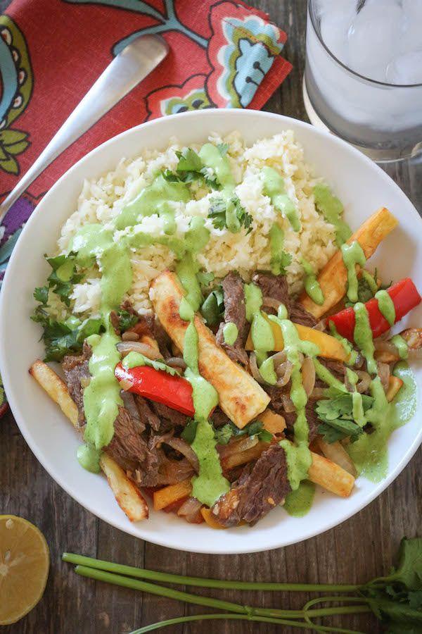 #paleomg #paleo Lomo Saltado (Peruvian Beef Stir Fry)