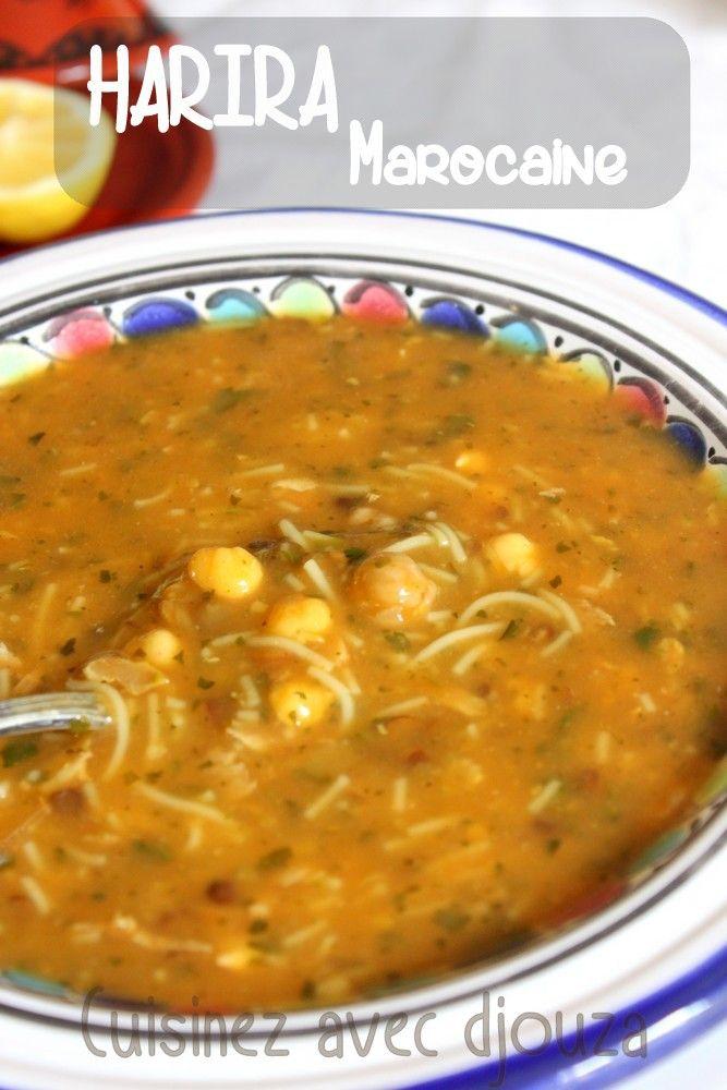 Harira soupe marocaine traditionnelle