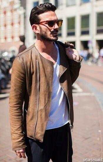 32 best Men Style - Jacket & Tee Shirt images on Pinterest
