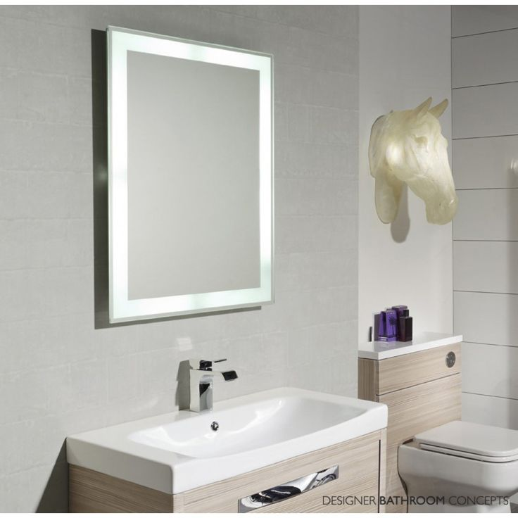 House Ideas Modern Lighted Vanity Mirror For Cool Batroom Furniture