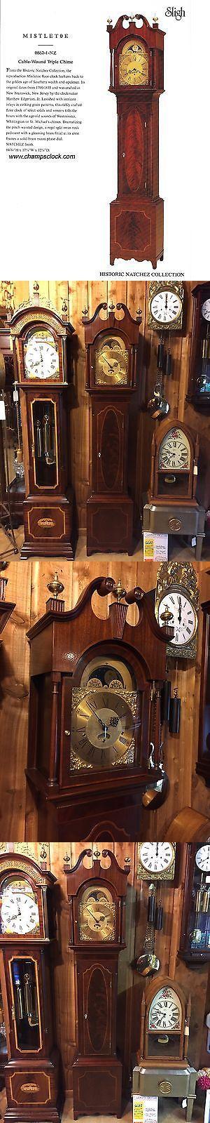 Grandfather Clocks 20559: Sligh 862-1Nz Mistletoe Natchez Collection Grandfather Clock Brand New #42 Of 62 -> BUY IT NOW ONLY: $5997 on eBay!