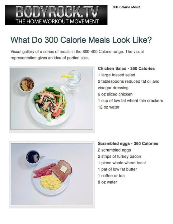 Lunch Menu Under 500 Calories