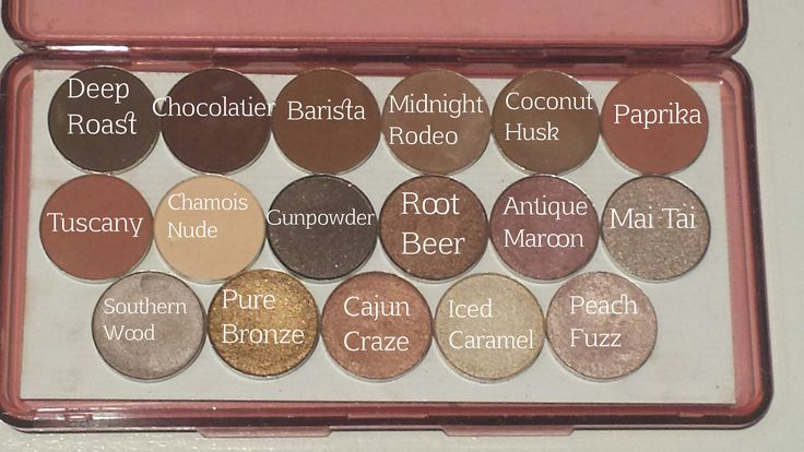 Coastal Scents eyeshadows. Whoever made this is so awesome!!! Love seeing the shades side by side!