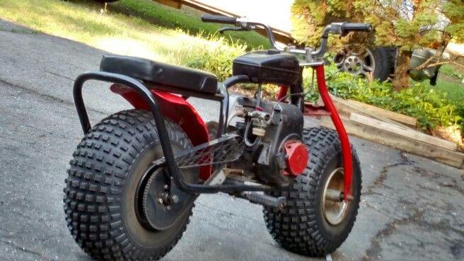 Custom fat tire mini bike