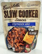 Campbell's Slow Cooker Sauces Southern BBQ 12 oz Price: USD 5.465 | United States