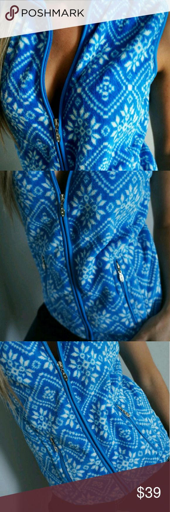 French Laundry, NWT Blue Vest Nwt Blue Vest Small French Laundry  Tops