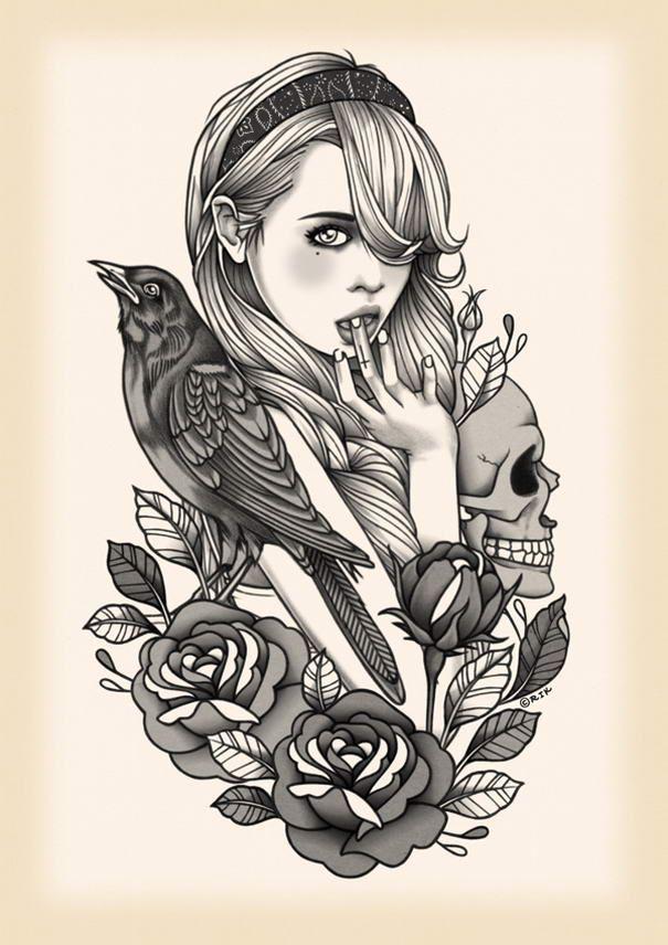 Beautiful-Illustrations-Rik-Lee_12.jpg 605×856 pixels