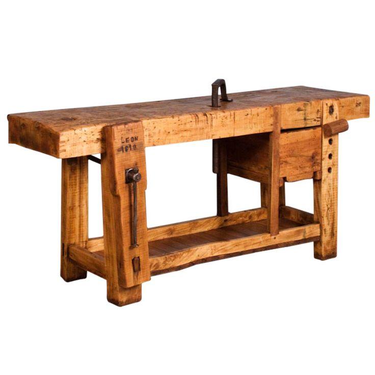 "French Country Carpenter's Work Bench ""Etabli""  c.1910"