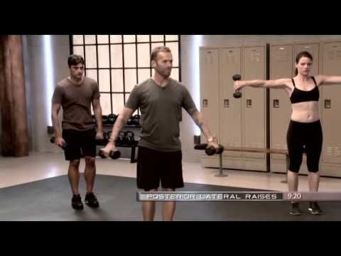 Bob Harper - Strength Beginner daily workout.  This will kick your butt if you're just beginning to workout! :)