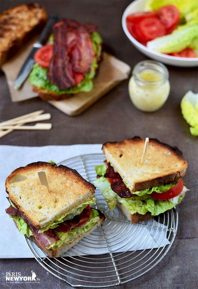 Recette new-yorkaise : avez-vous déjà essayé le Sandwich BLT ? SPÉCIAL OPENING WHITNEY MUSEUM | PARIS NEW YORK TV