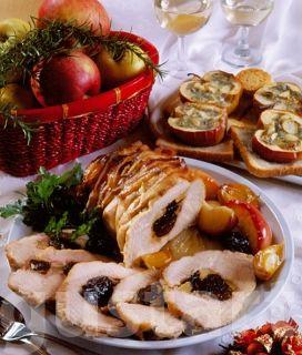 Receptek Lajos Mari konyhájából - Aszalt szilvás pulykamell