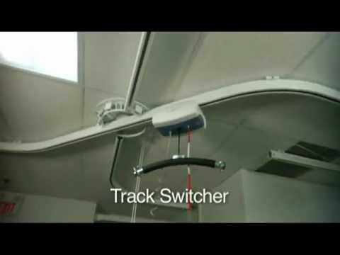 ▶ Prism Medical's Ceiling Lift Track Switcher - YouTube