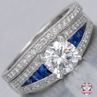 If I received this ring from my sweetie I think I would faint. ( After putting it on my finger of course. Lol)