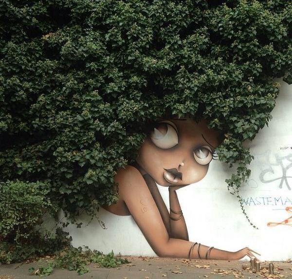 Ingenious Street Art. Beautiful Streets....