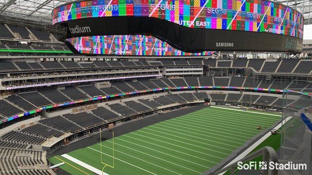 Rams Believe Likelihood Of Playing Games In Front Of Sold Out Crowd At Sofi Stadium In 2020 Is In 2020 Stadium Nfl News Cowboys Stadium