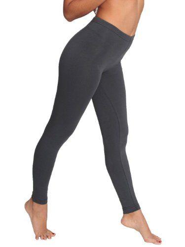American Apparel Women's Cotton Spandex Jersey Leggings. BUY it on Amazon: http://amazonpartner.us/?p=421