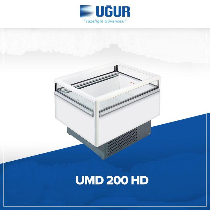 UMD 200 HD birçok özelliğe sahip. Bunlar; +1/+10 ve -12/-22°C olmak üzere farklı sıcaklık aralıklarında çalışan iki model, ısıya yalıtımlı cam ve entegre aydınlatma sayesinde dondurma, dondurulmuş gıda ve soğuk içecekler için mükemmel sunum, no-Frost sistemi sayesinde sıcaklığı sürekli ve sabit kılan güçlü hava dolaşımı, elektronik kontrollü otomatik defrost ve marka uygulama kolaylığı. #uğur #uğursoğutma