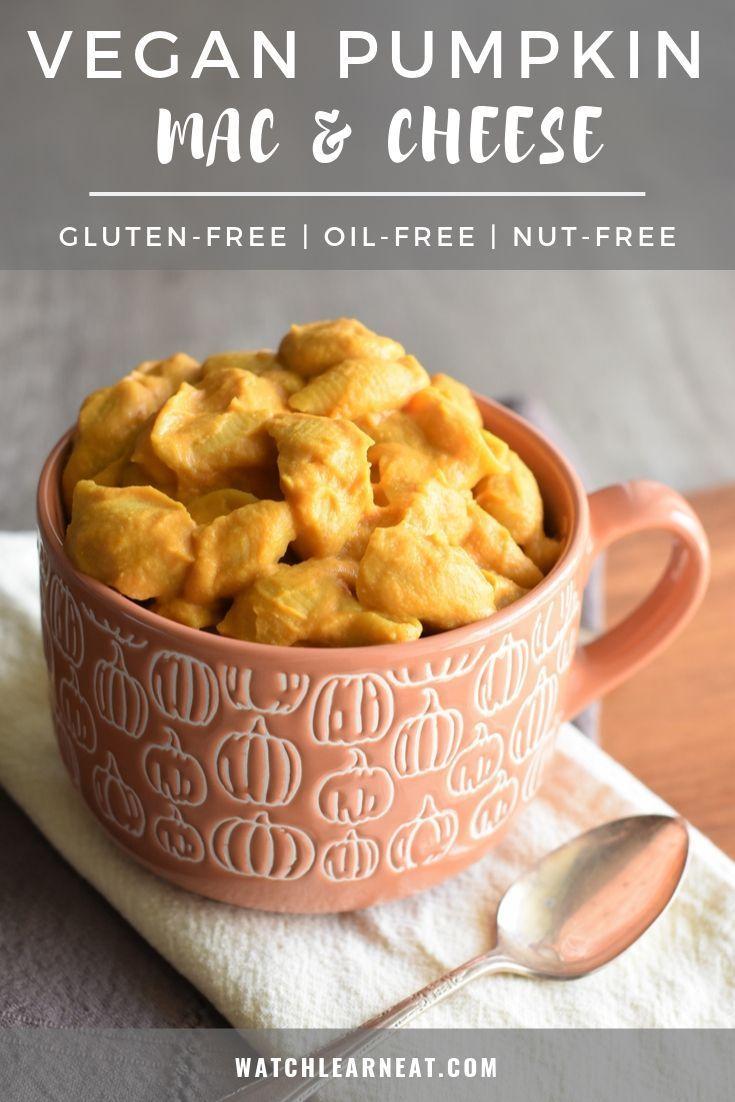 This Creamy Vegan Pumpkin Mac And Cheese Is Gluten Free Nut Free