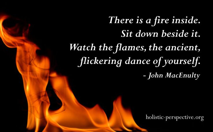 Theory of Holistic Perspective | Fire within