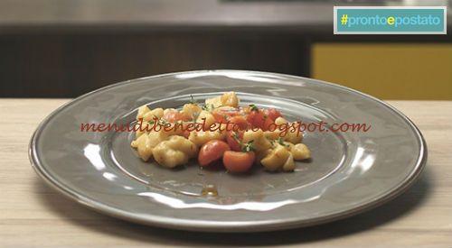 I menù di Benedetta...e non solo: Pronto e postato - Gnocchetti di mare ricetta Bene...