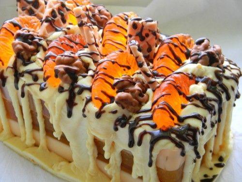 Лучшая новогодняя выпечка: мандариновый пирог