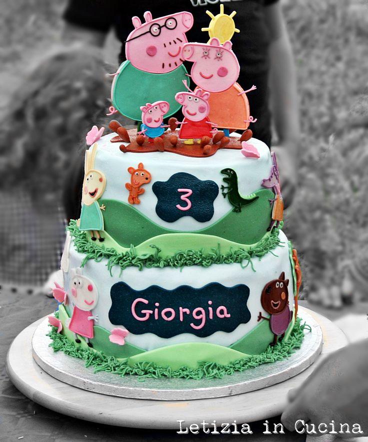 Torta Peppa Pig - Peppa Pig Cake