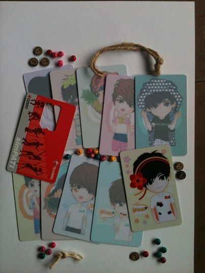 Exclusive CARD | save in wallet | ready to SALE (ORDER NOW) | @ 110K IDR (10) (convr: 12.5 USD) | created by +Ratna Har (Liitle Lumut)