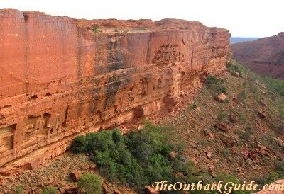 Southern wall, Kings Canyon, Australia