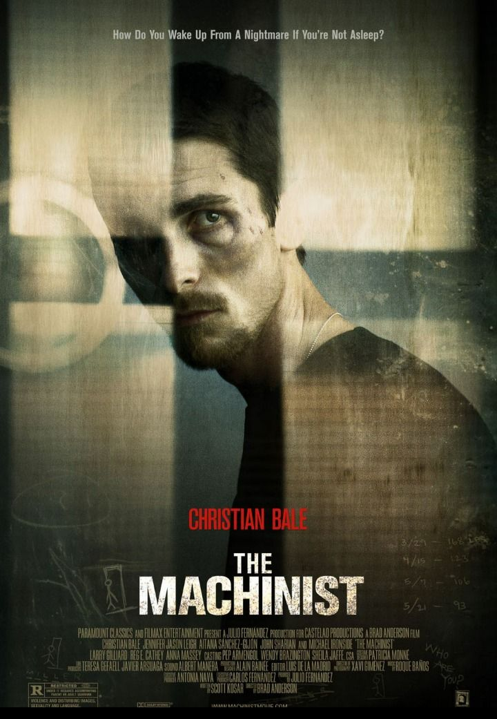 [MOVIE] The Machinist, one of my favorite psychological thrillers. Christian Bale's true fans only.