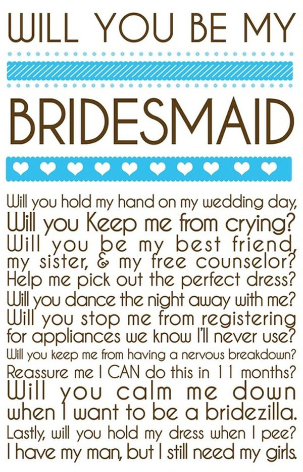 The life of a bridesmaid :)