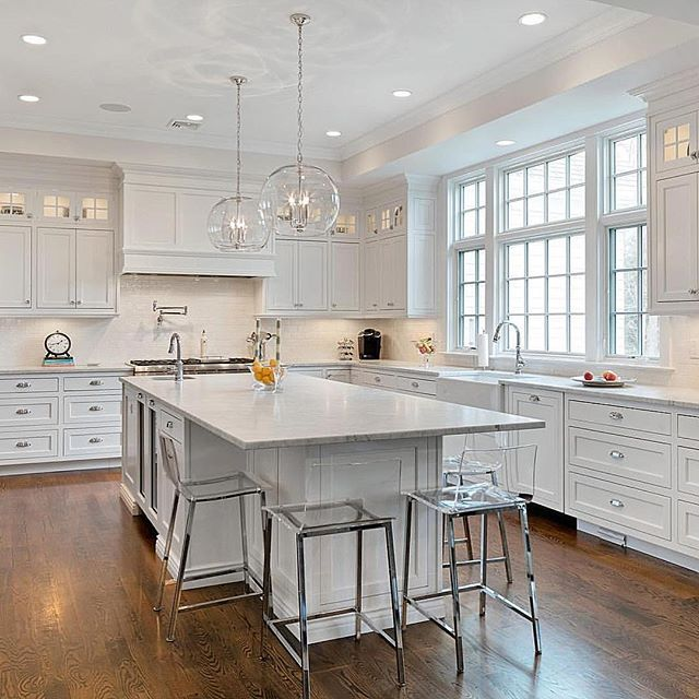 best 25+ classic white kitchen ideas on pinterest | wood floor
