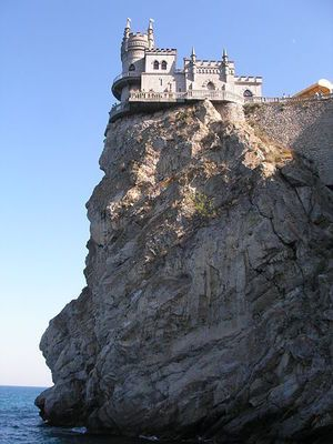 A Russian Castle Over the Crimean Sea