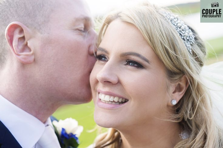 Gorgeous close-up photo of the bride & groom. Weddings at The Heritage Hotel by Couple Photography.