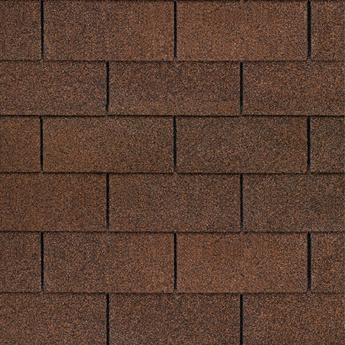 Autumn Brown #gaf #3tab #roof #shingles #swatch