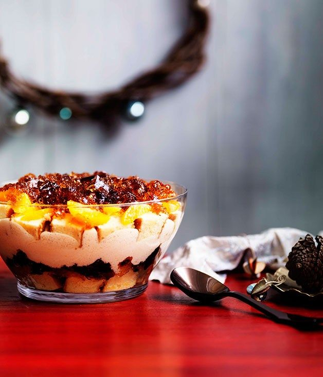 Boozy winey trifle - Gourmet Traveller