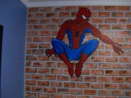 Boys Love Spiderman And Decorating Their Room With A Spiderman Style Theme  Is A Natural.
